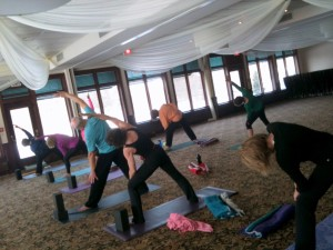 Yoga with Views of North Oaks Golf Course